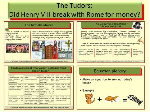 The Tudors: Did Henry VIII break with Rome for money?