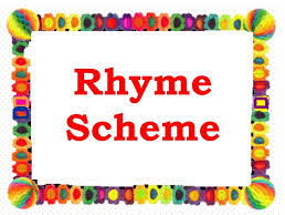 KS3 4 part Lesson: What is a rhyme scheme and how do we identify one? Nonsense Poetry and Pop Music!