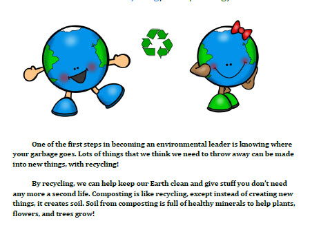 Where Does It Go?  A Kid's Guide to Recycling, Composting, and Trash
