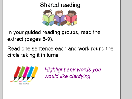 Aladdin reading comprehension 6 week unit