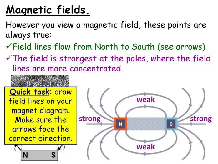Magnetic Fields and Earth Year 8 Lesson PowerPoint (KS3 8Lc) Earth & Space Topic MAGNETS