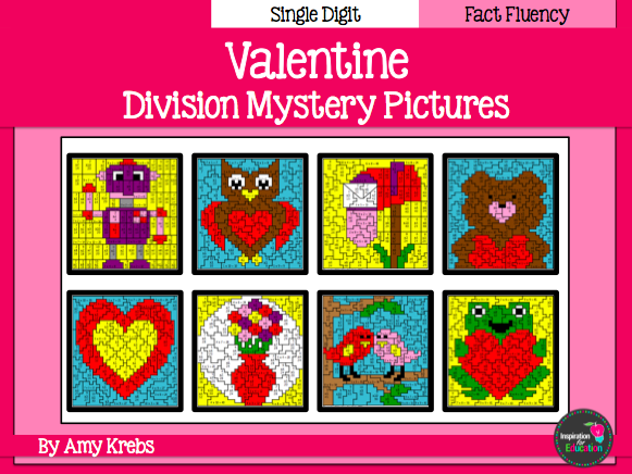 Valentine Division Mystery Pictures