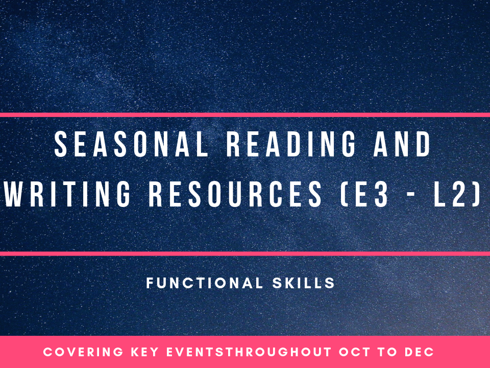 Functional Skills Reading and Writing