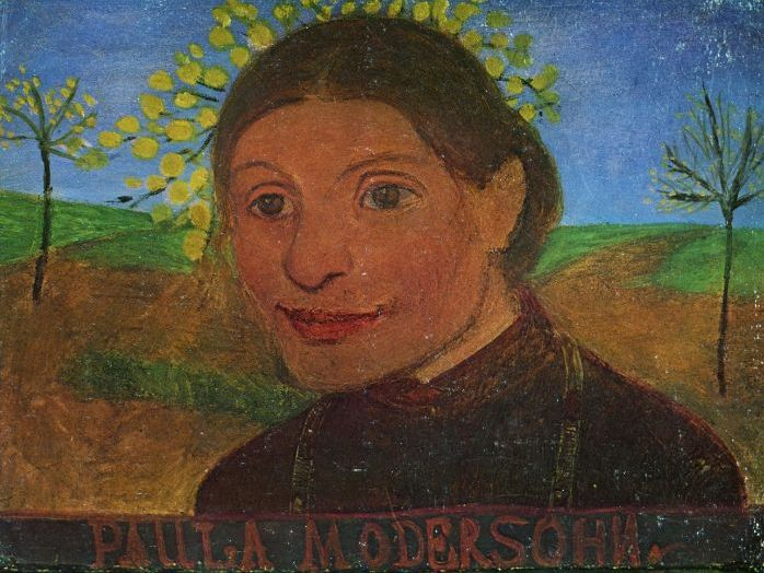Paula Modersohn quotes: on her painting & artist-life in Worpswede / Paris - for students and pupils