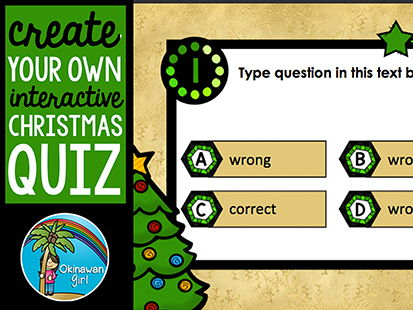 Create Your Own Interactive Christmas Quiz