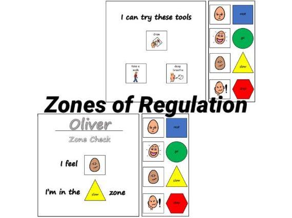 Zones of Regulation - Zone Checker SEND