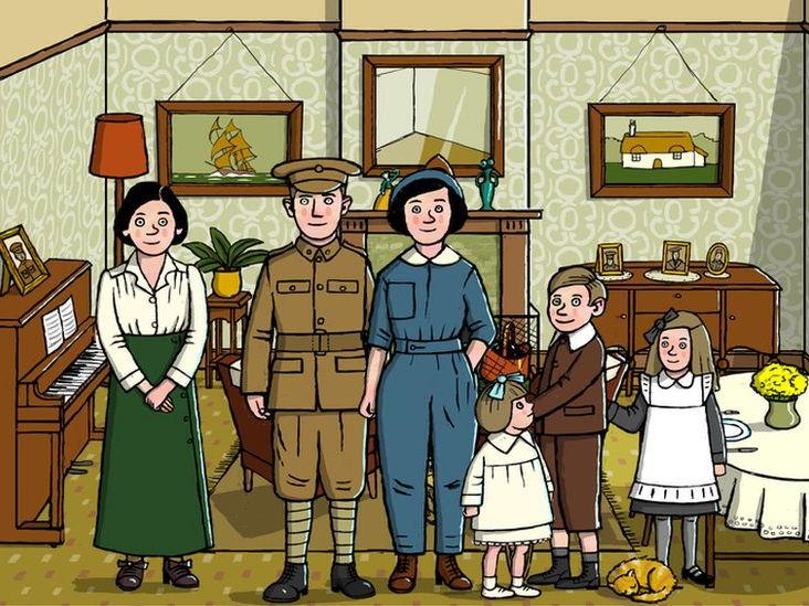 WW1 Family Life (with test)