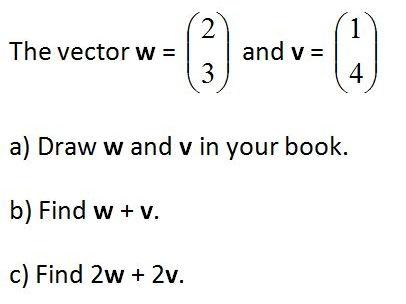 Column Vectors GCSE 9-1 Worksheet