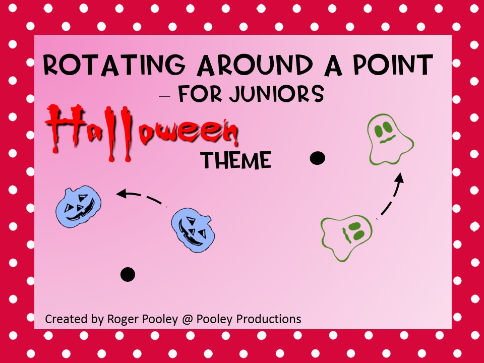 Halloween Rotating around a Point - for Juniors
