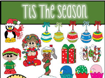 Tis The Season Christmas Clip Art