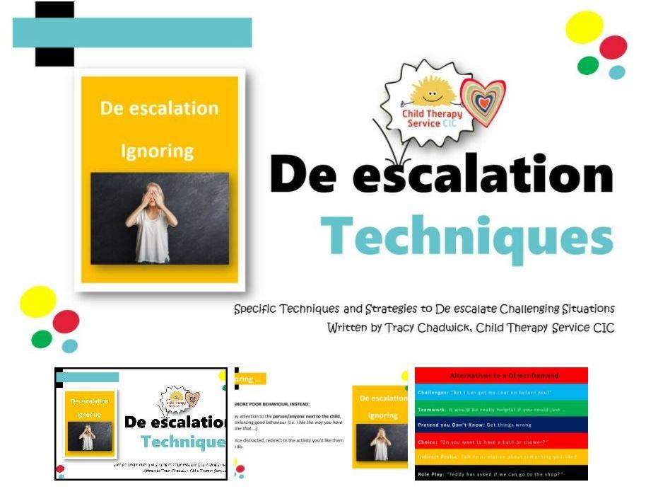 De-escalation Techniques for Challenging Behaviour