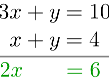 Edexcel A level Mathematics Chapter 3 Equations and Inequalities