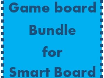 Vocabulary Game boards for Smartboard Bundle
