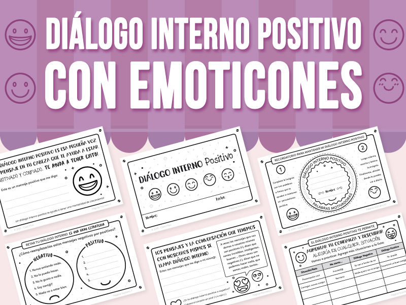 Diálogo Interno Positivo con Emoticones - SPANISH VERSION