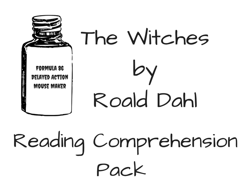 The Witches (part 1); worksheets by sonjacoulter - Teaching ...