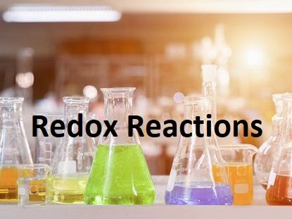 Redox A level Chemistry Notes