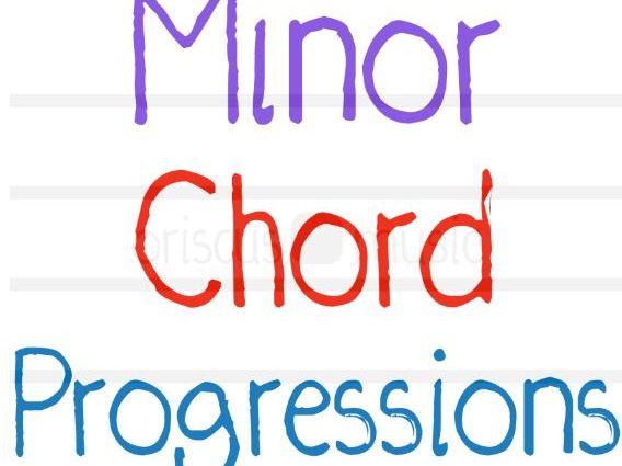 Minor Chord Progressions Worksheet Pack