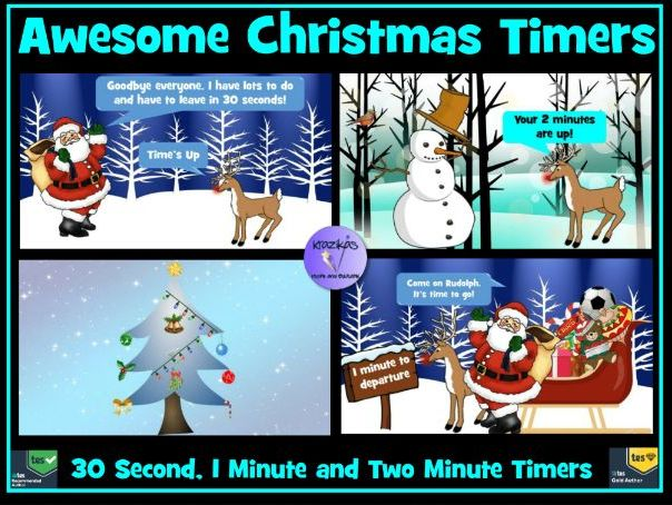 Christmas Countdown Timers With Music