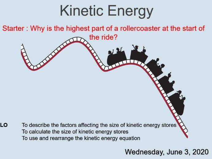 KS3 - Y9 - Physics - Kinetic Energy