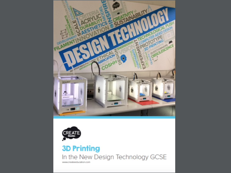 3D Printing in the New Design and Technology GCSE