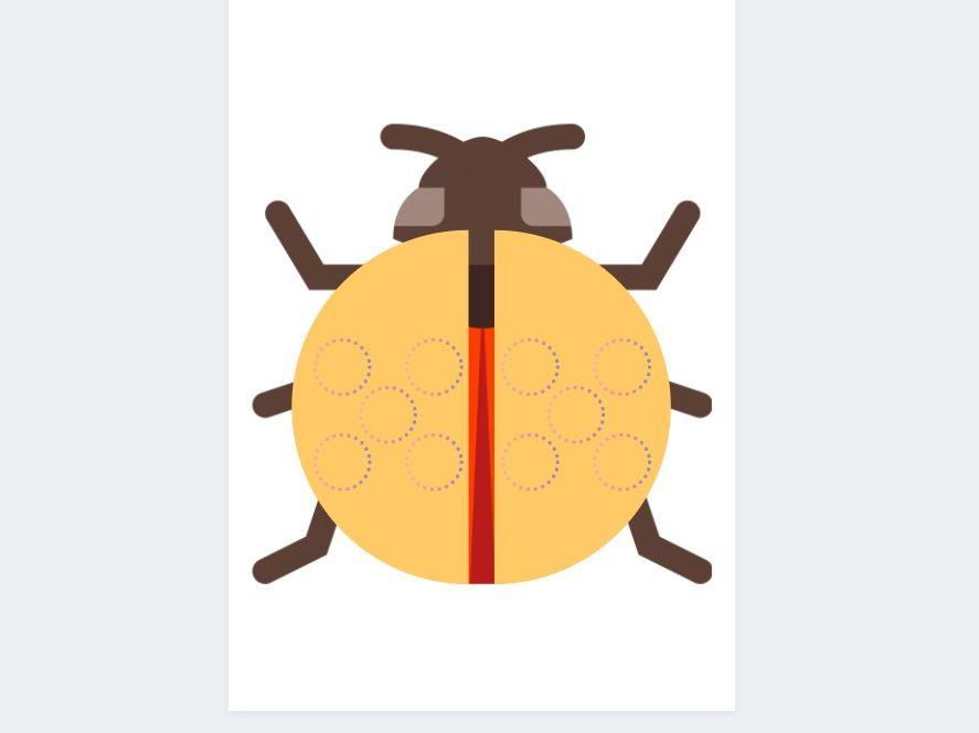 Ladybird cards and Hungarian Tens Frame