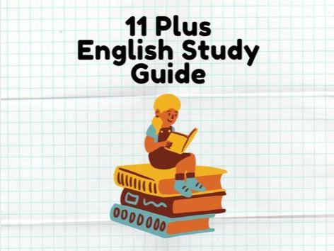 11 Plus English Study Guide