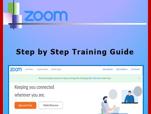 How to use Zoom for Distance Learning editable