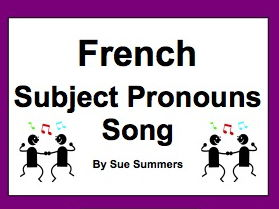 Subject Pronouns in French by gilberto - Teaching Resources - Tes