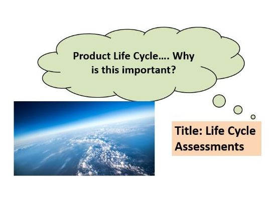 AQA GCSE Chemistry - C14 – Life Cycle Assessments