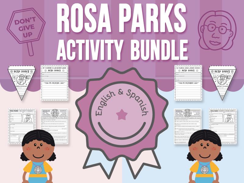 Rosa Parks - Activity BUNDLE
