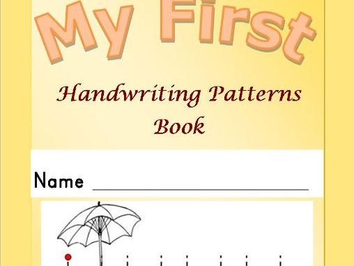 My First Handwriting Patterns Book