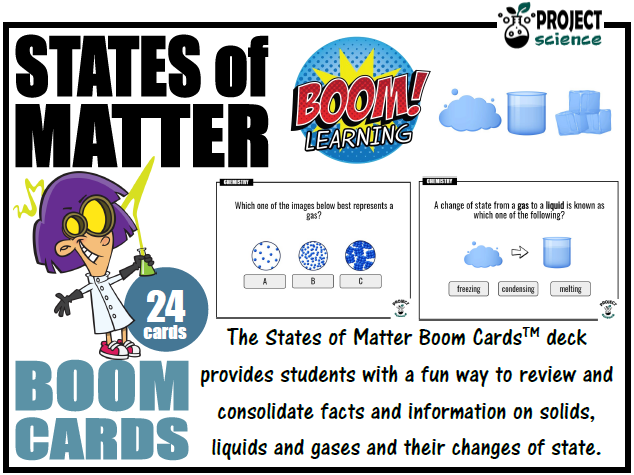 States of Matter Boom Cards™ - Distance Learning