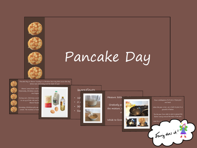 Pancake Day/Shrove Tuesday PowerPoint Show