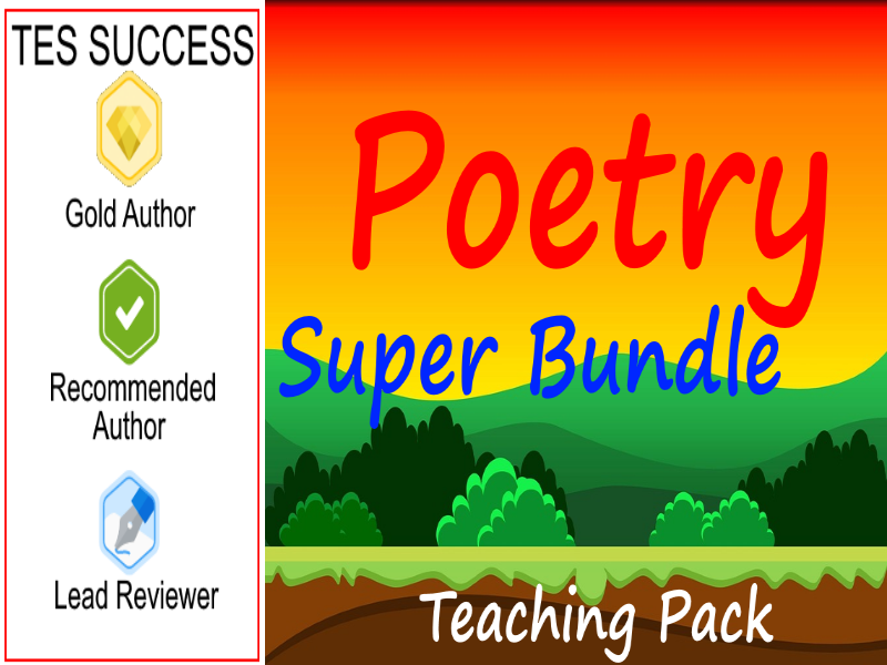 Poetry Bundle - Perfect For Poetry Week!