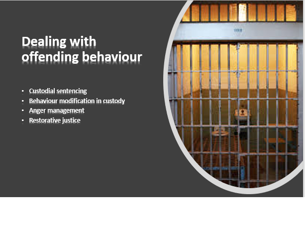 AQA psychology- Forensic psychology: dealing with offender behaviour
