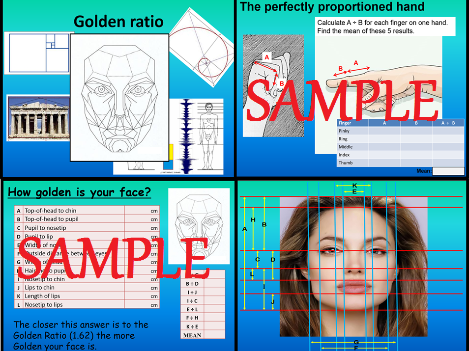 Golden Ratio in the face investigation