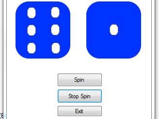 Programming in Visual Studio - Simple Dice Program  using IF Statements
