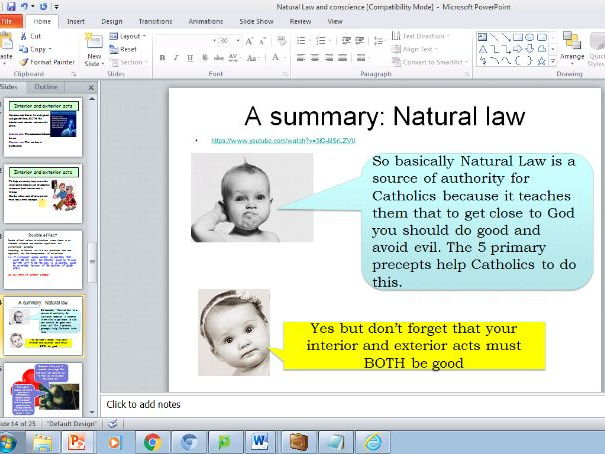 Law On Natural Resources Reviewer