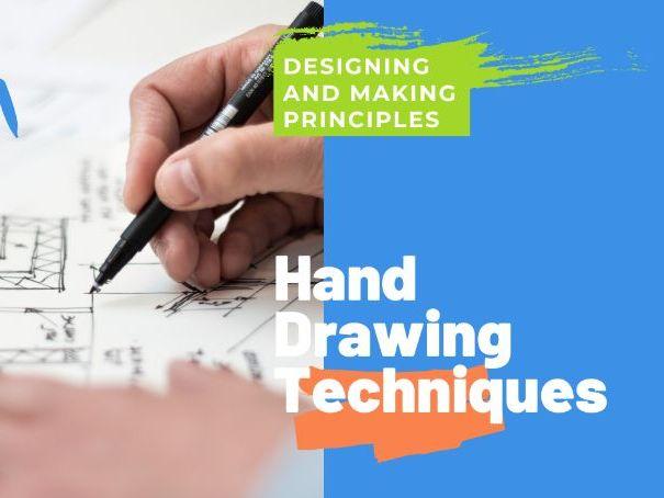 Hand Drawing Techniques - PPT GCSE DT