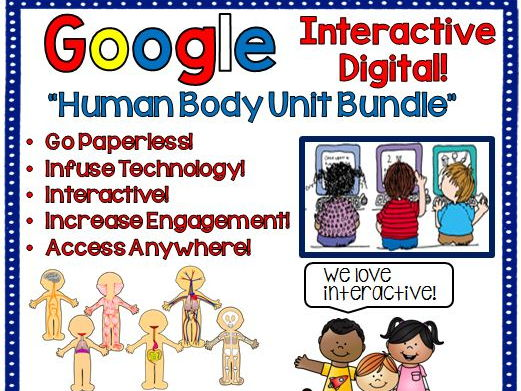 Google Drive Human Body Systems Unit Interactive Notebook For Google Classroom