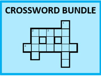D'accord 1 Vocabulary Crossword Bundle