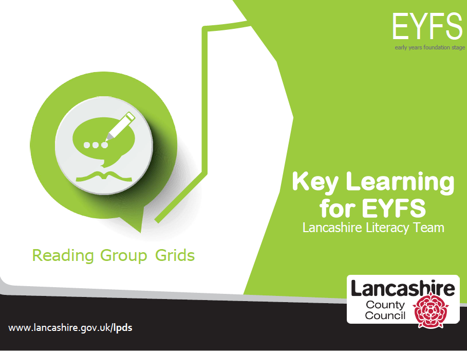 Key Learning for EYFS - Reading Group Grids