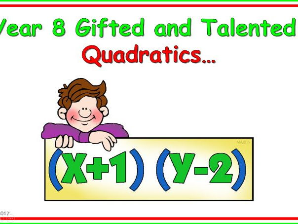 GCSE Maths - Quadratics Complete Unit Pack.