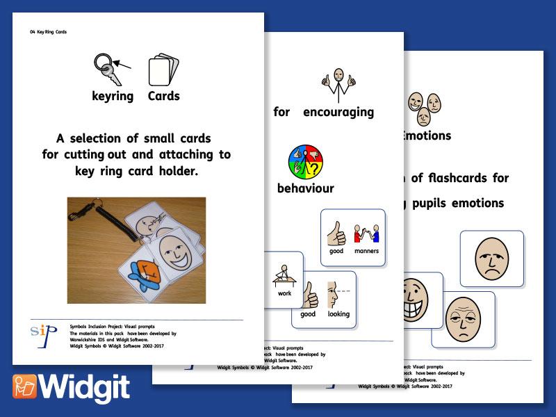 Behavioural Prompts Bundle - with Widgit Symbols
