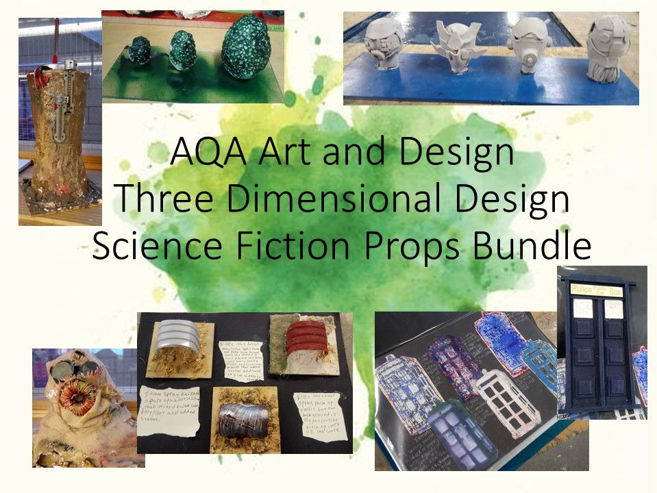 AQA Art and Design Three Dimensional Design Bundle