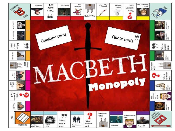Macbeth Monopoly