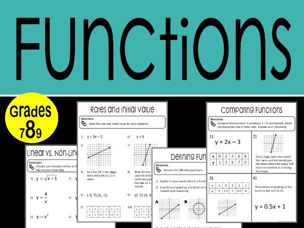 Functions Math Stations