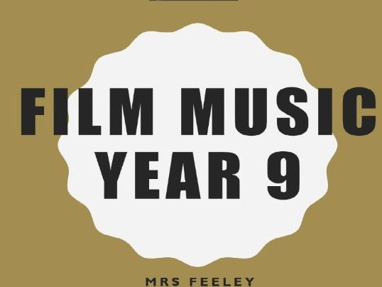 Film Music Year 9