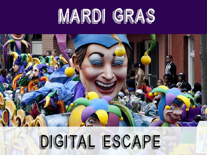Digital Escape Game - Mardi Gras