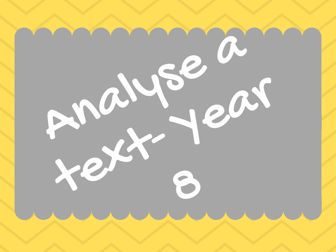 Reading & writing Spanish skills. Analyse a text - Year 8 - All topics